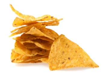 Tortilla chips slices